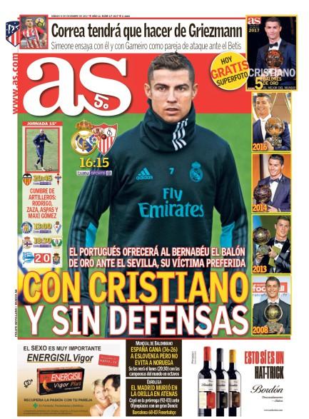 AS1面 Con Cristiano y sin defensas (クリスティアーノありとDFなしで)