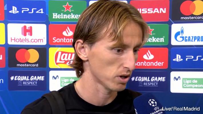 モドリッチ:「集中力の欠如があったかもしれない」