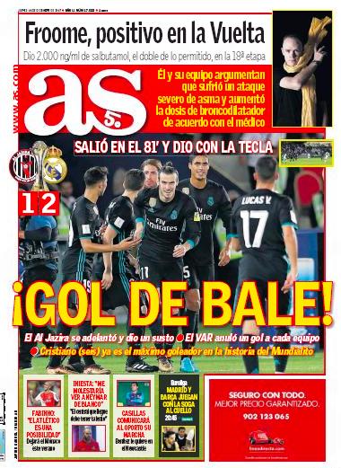 AS1面: Gol de Bale (ベイルのゴール)