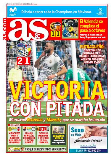 ヴィクトリア・プルゼニ戦翌日AS:Victoria con pitada (ブーイングされた勝利)